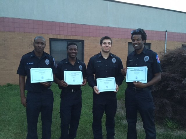 Recruits Graduate Firefighter I