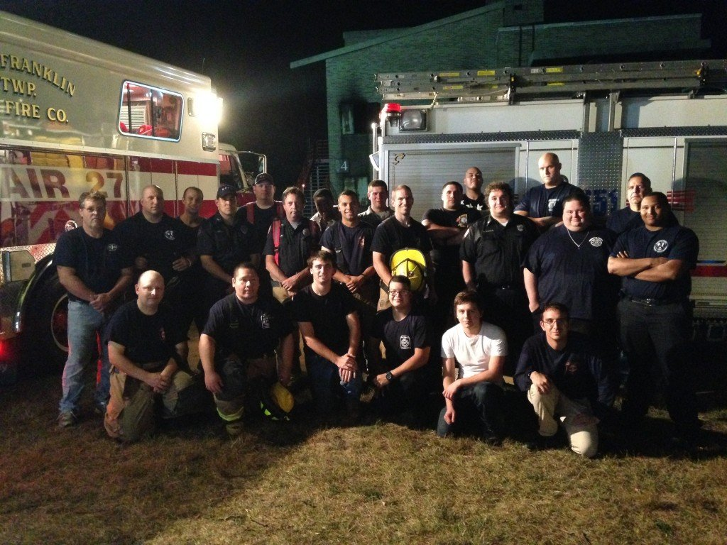 Fire District #3 holding it's Monthly Drill (September 2015)