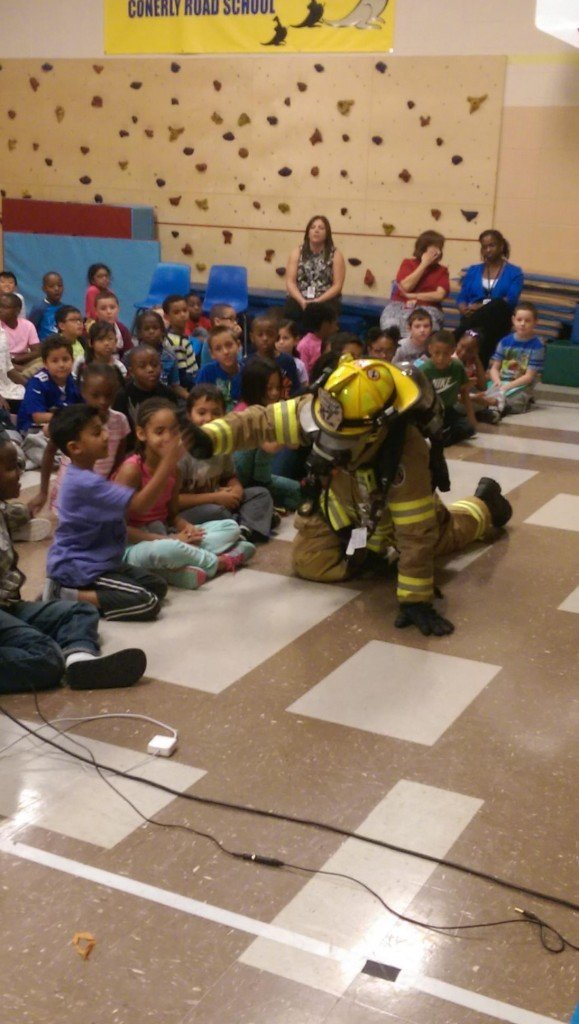 Station 27's Participation in Fire Prevention Week goes over a Month long!