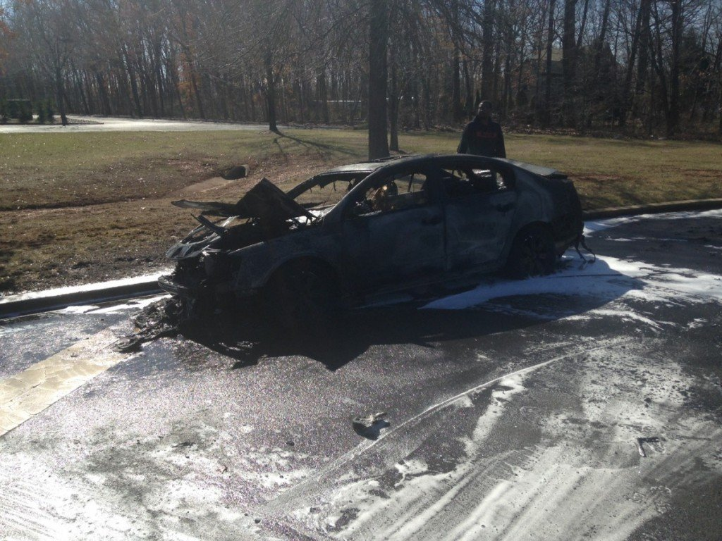 Motor Vehicle Fire on Clyde Road