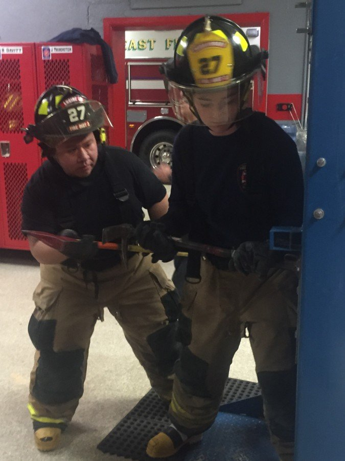 Forcible Entry Drill (February Co. Drill)