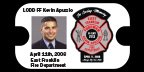 Station 27 Selling Memorial Bracelets and Keychains in honor of FF Apuzzio
