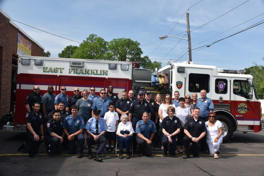 Station 27 holds it's annual Memorial Day Ceremony