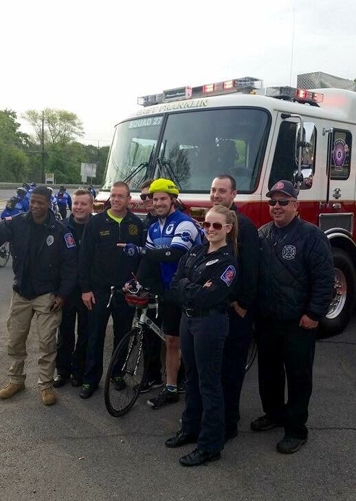 East Franklin Fire Department Supports the Police Unity Tour