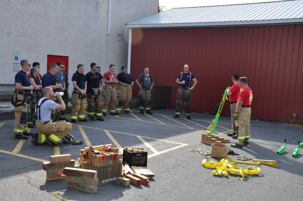 June's Monthly Drill on MV Extrication