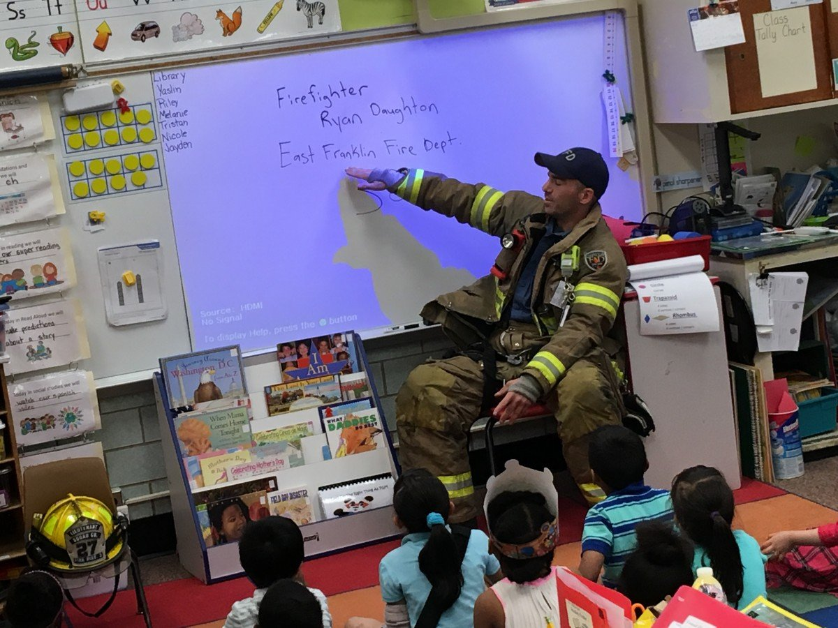 Career Day at Pinegrove Elementary School