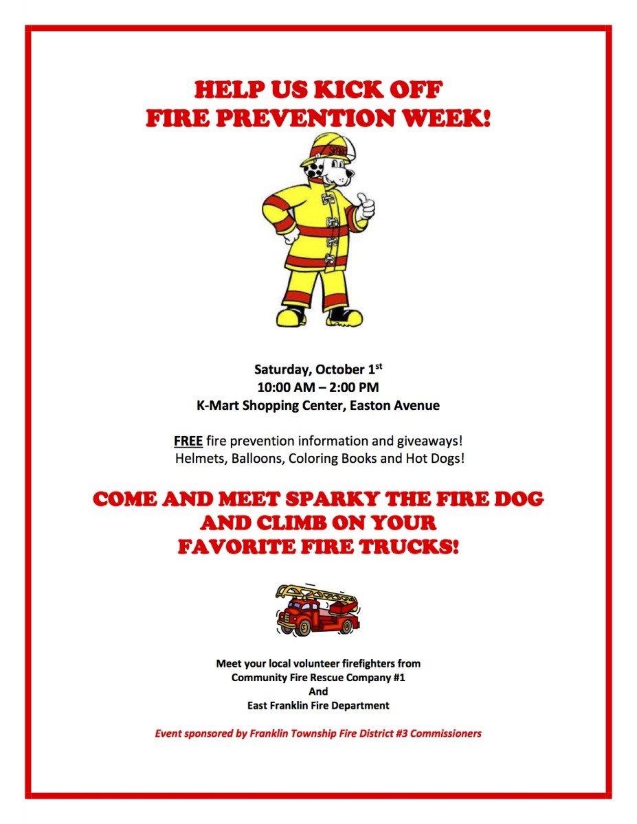 Fire Prevention Week Kick Off