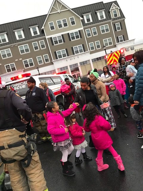 Fire District #3 holds it's annual Santa Run Event