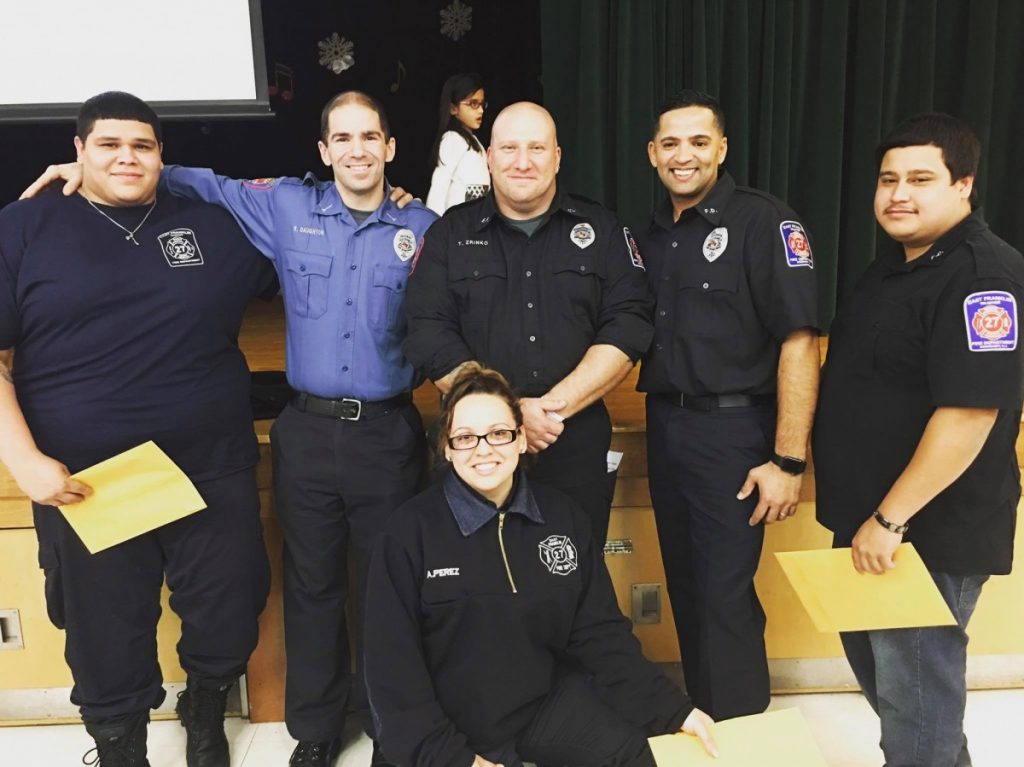 East Franklin Fire Department graduates 4 from the SCESTA Firefighter I Program