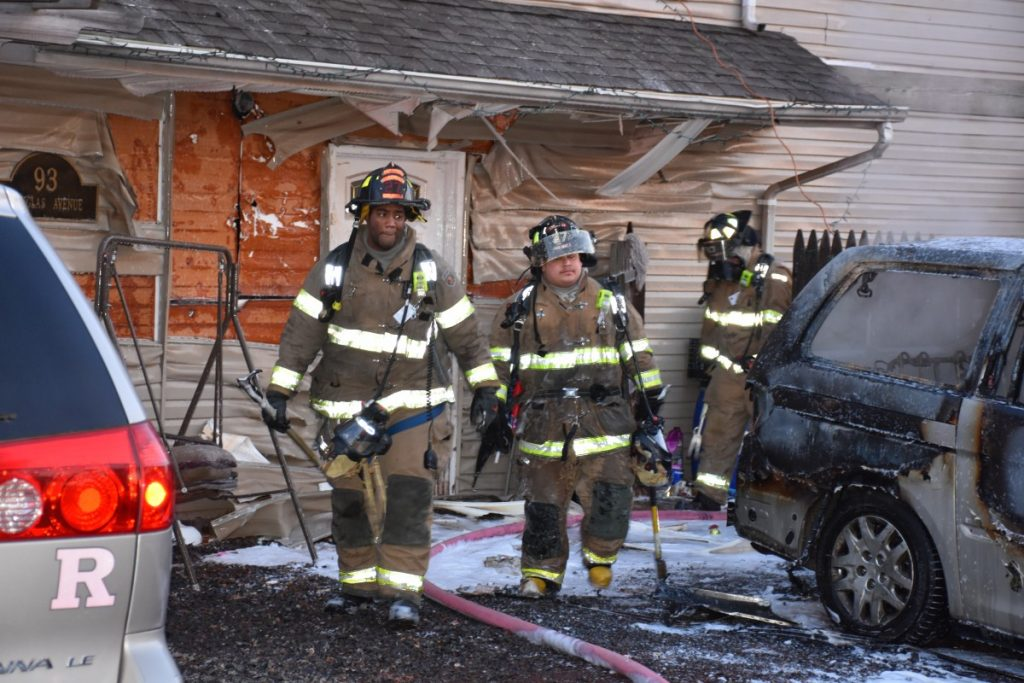 Motor Vehicle Fire with Exposure to Residence