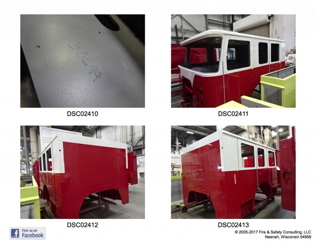 Ladder 27 is moving along. Here are some pics during week 4 of it's production…