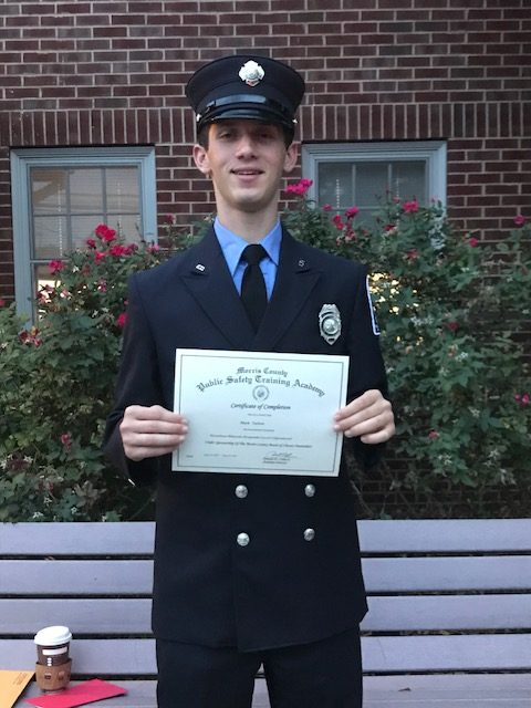 Station 27 congratulates FF Mark Tarlow on his graduation from Morris County Fire Academy