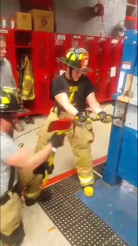 East Franklin gains another Interior FF who started at a young age…