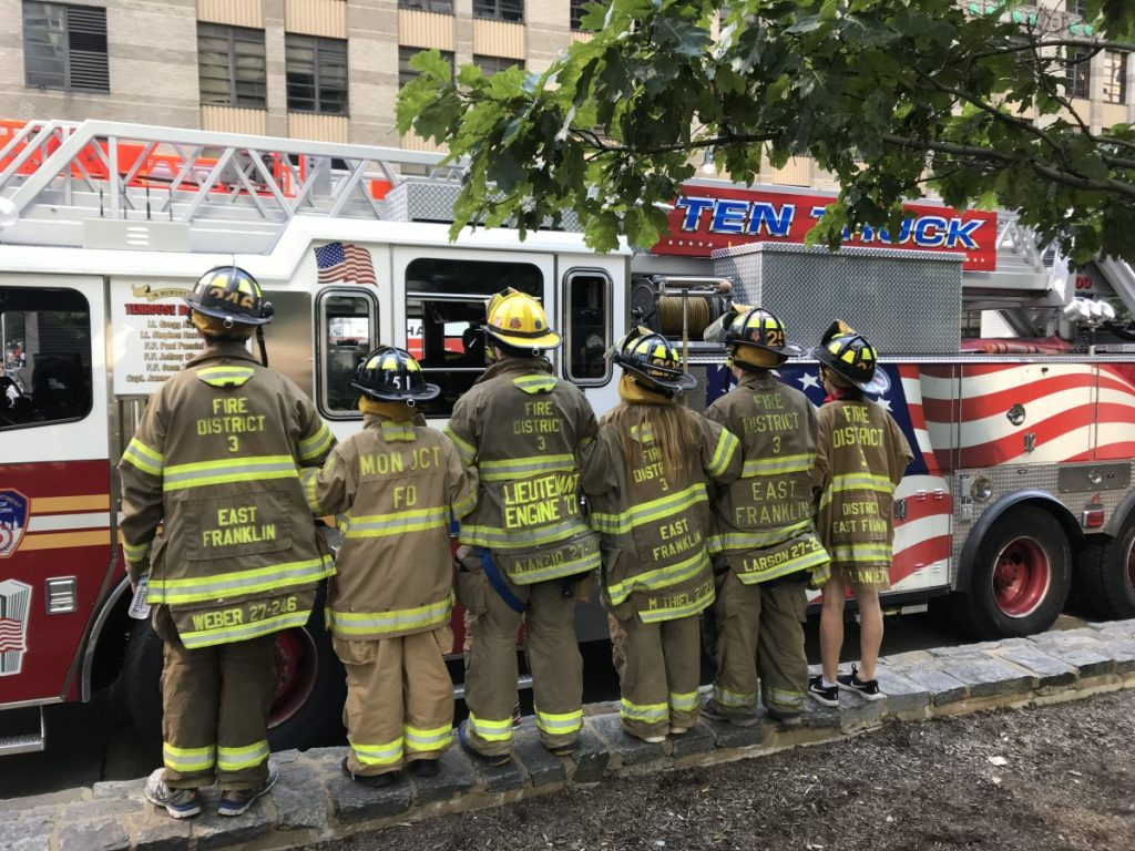 East Franklin Firefighters Participate in Tunnel to Towers 5K