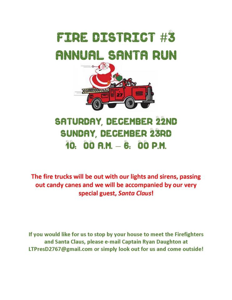 Station 27's Santa Run for 2018